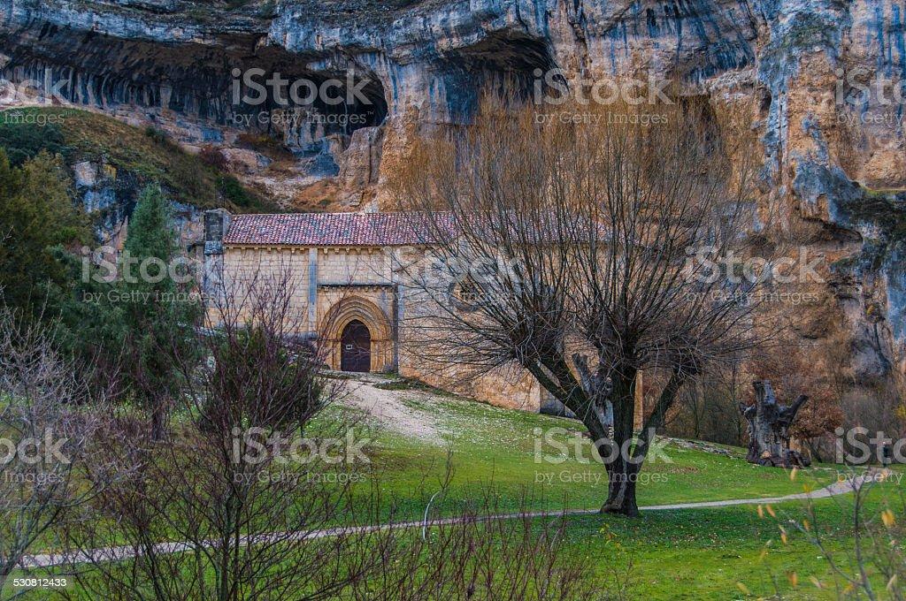 Ermita de San Bartolome stock photo