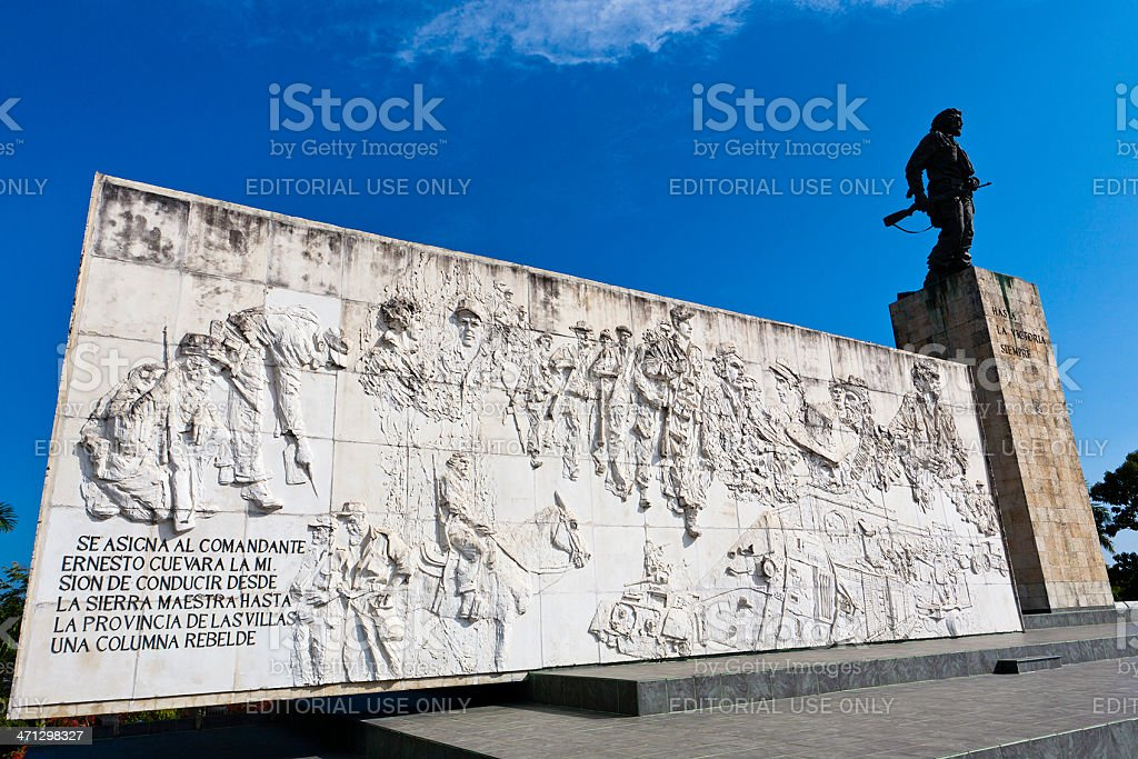 "Ernesto ""Che"" Guevara Memorial, Santa Clara, Cuba stock photo"