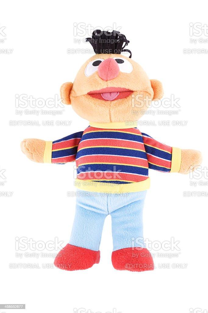 Ernie, Sesame Street stock photo