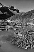 Eroded Environment Athabasca Glacier