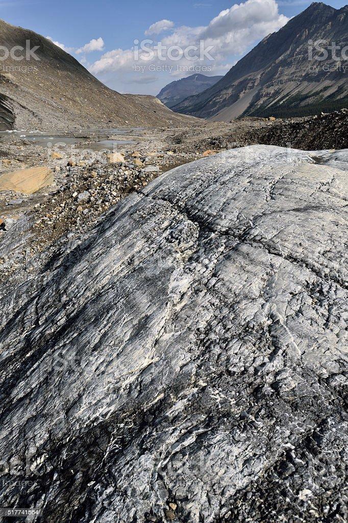Eroded Landscape stock photo