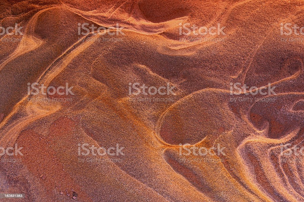 eroded sandstone abstract royalty-free stock photo