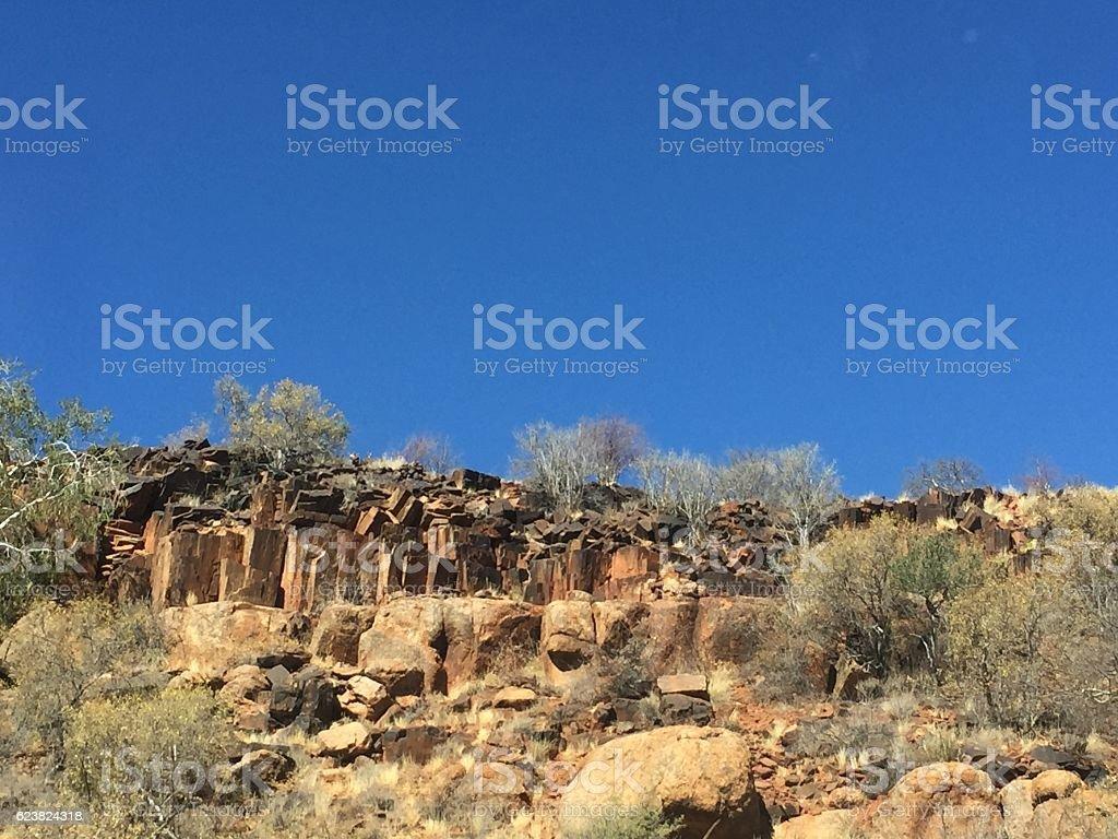 Erongo Mountains stock photo
