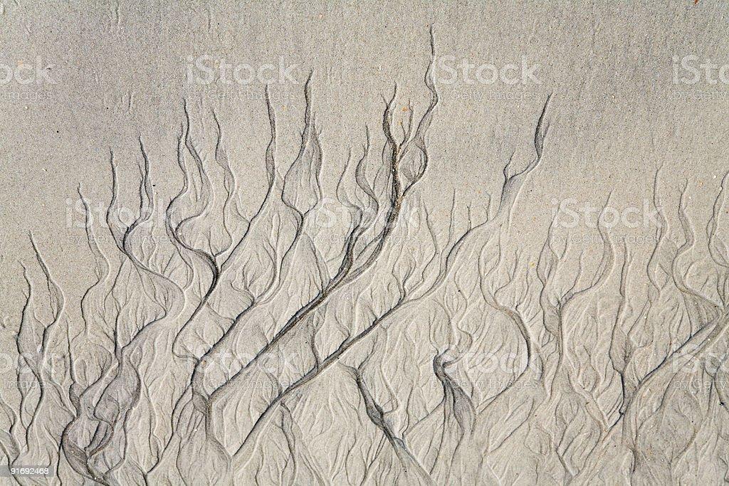 erosion pattern stock photo