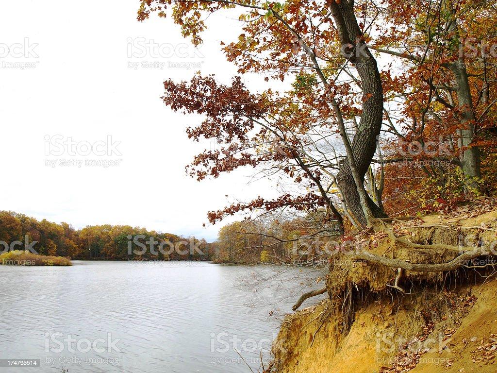 Erosion royalty-free stock photo