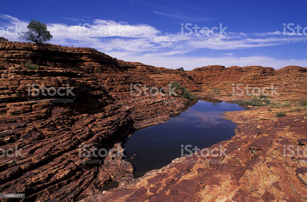 erosion rock in central Australia royalty-free stock photo