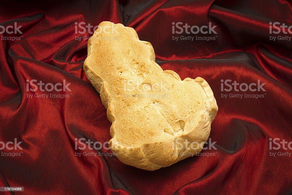 Erotic Bread royalty-free stock photo