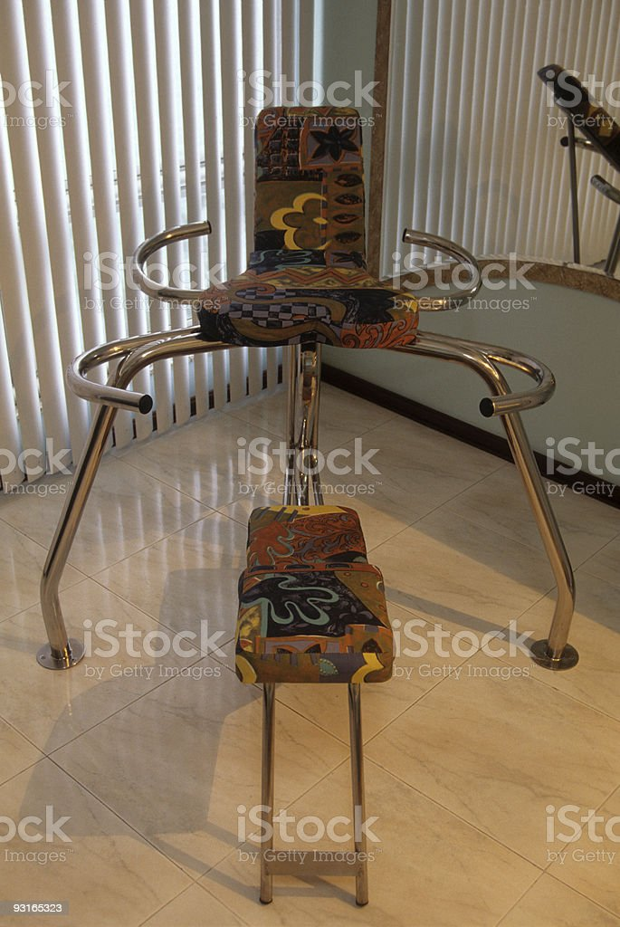 Erotic chair royalty-free stock photo
