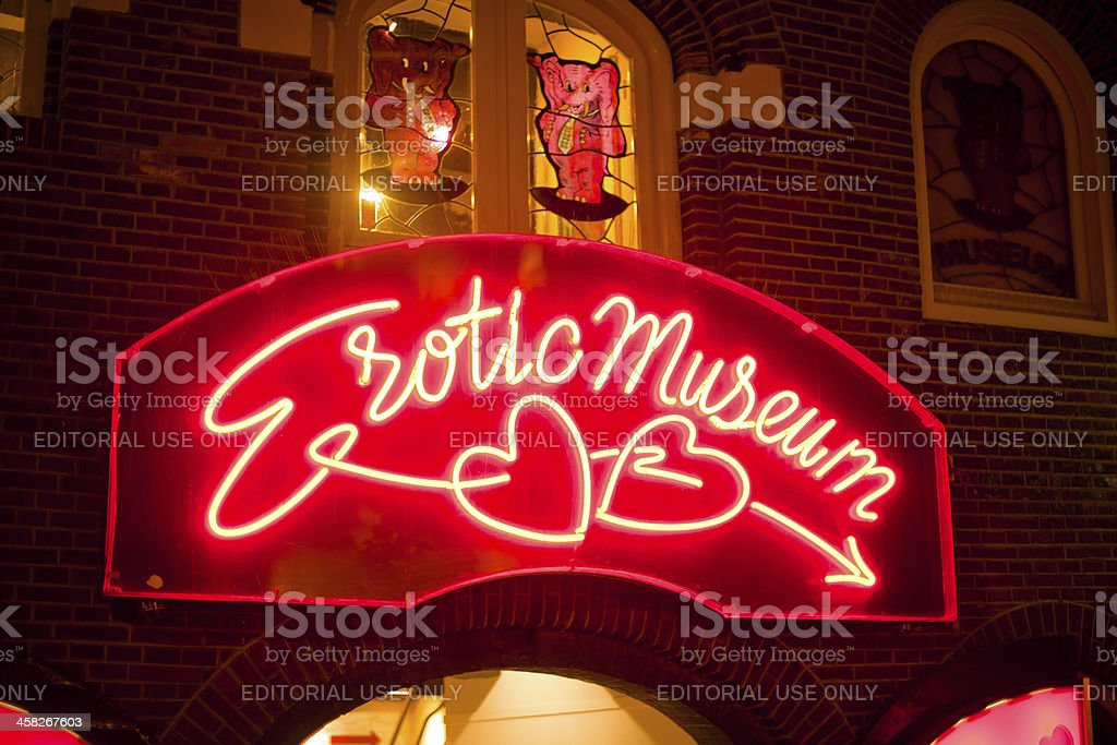 Erotic Museum stock photo