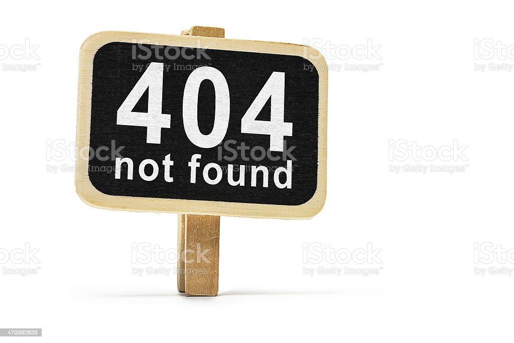Error 404 not found stock photo