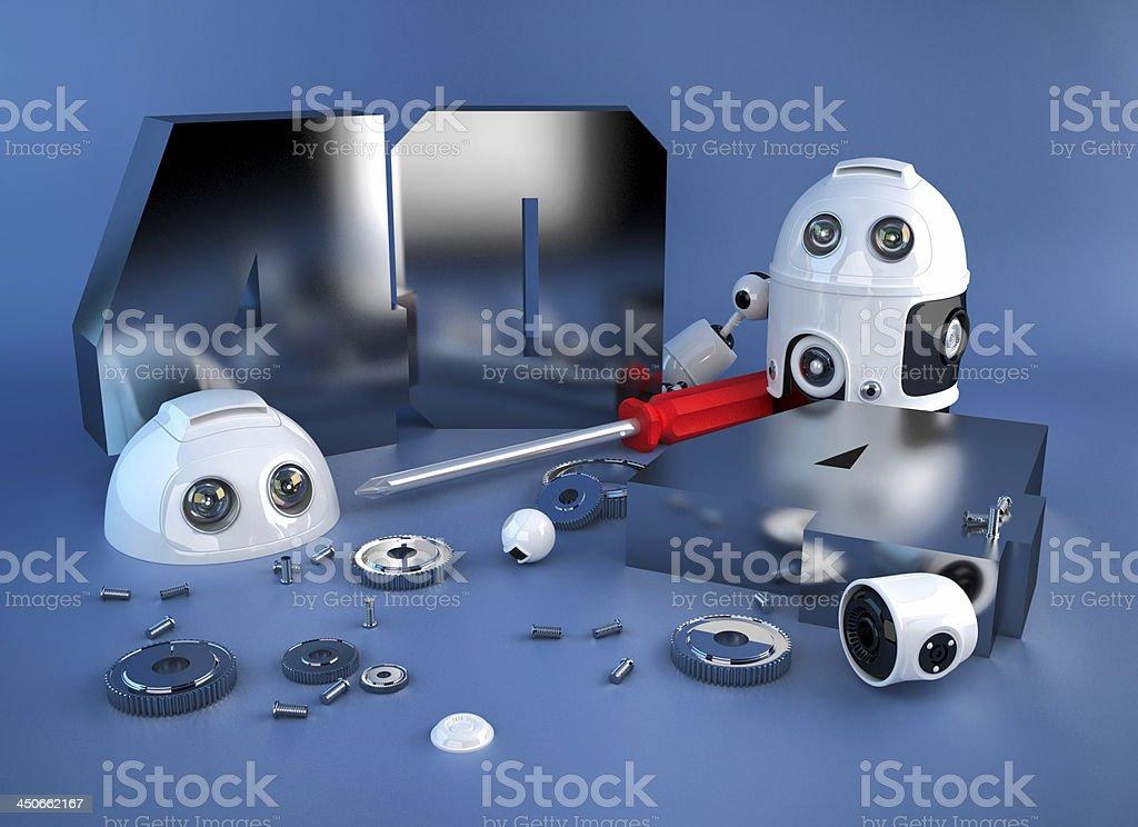 404 error concept stock photo