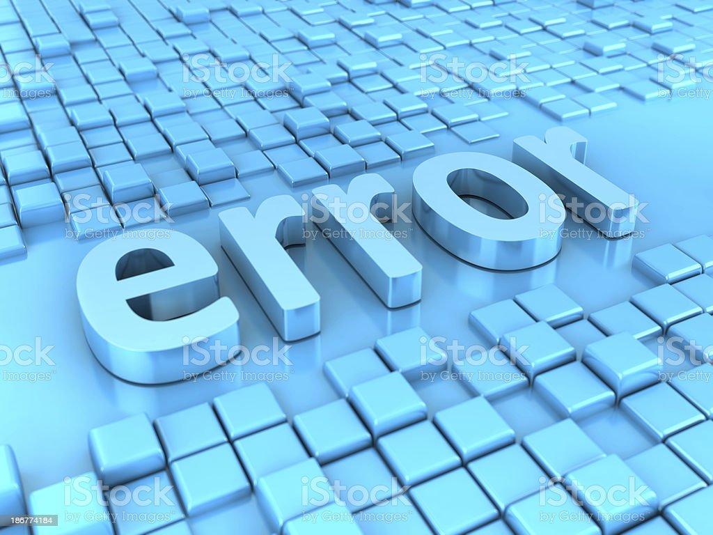 Error Message stock photo