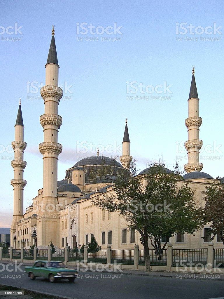Ertogrul Gazy Mosque (turkmenistan) royalty-free stock photo