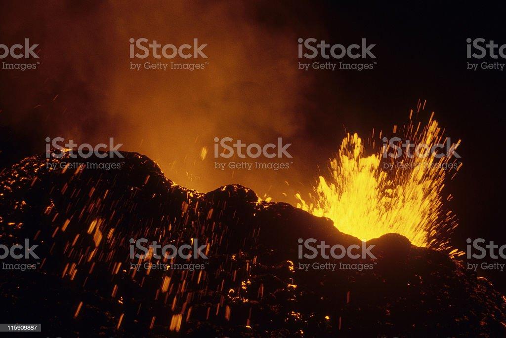 eruption 1 royalty-free stock photo