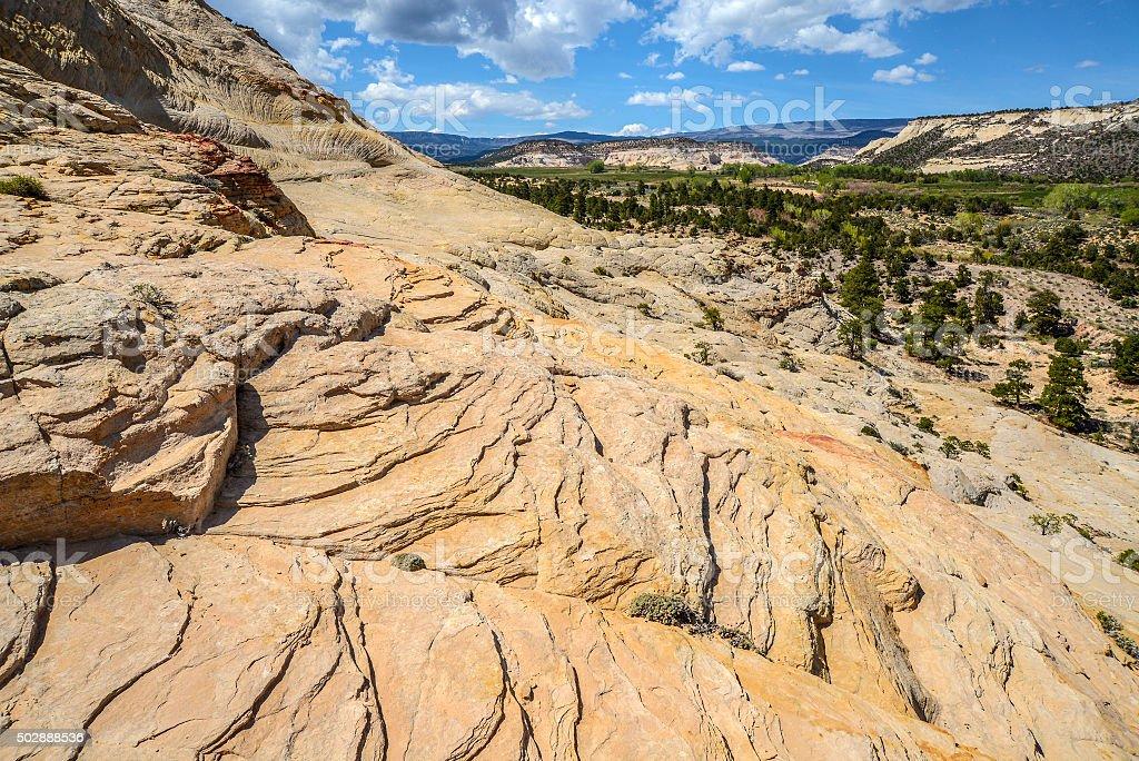 Escalante canyon country stock photo