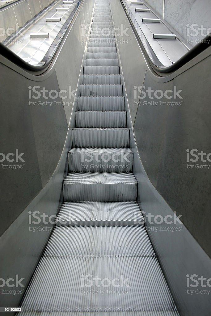 escalator 02 royalty-free stock photo