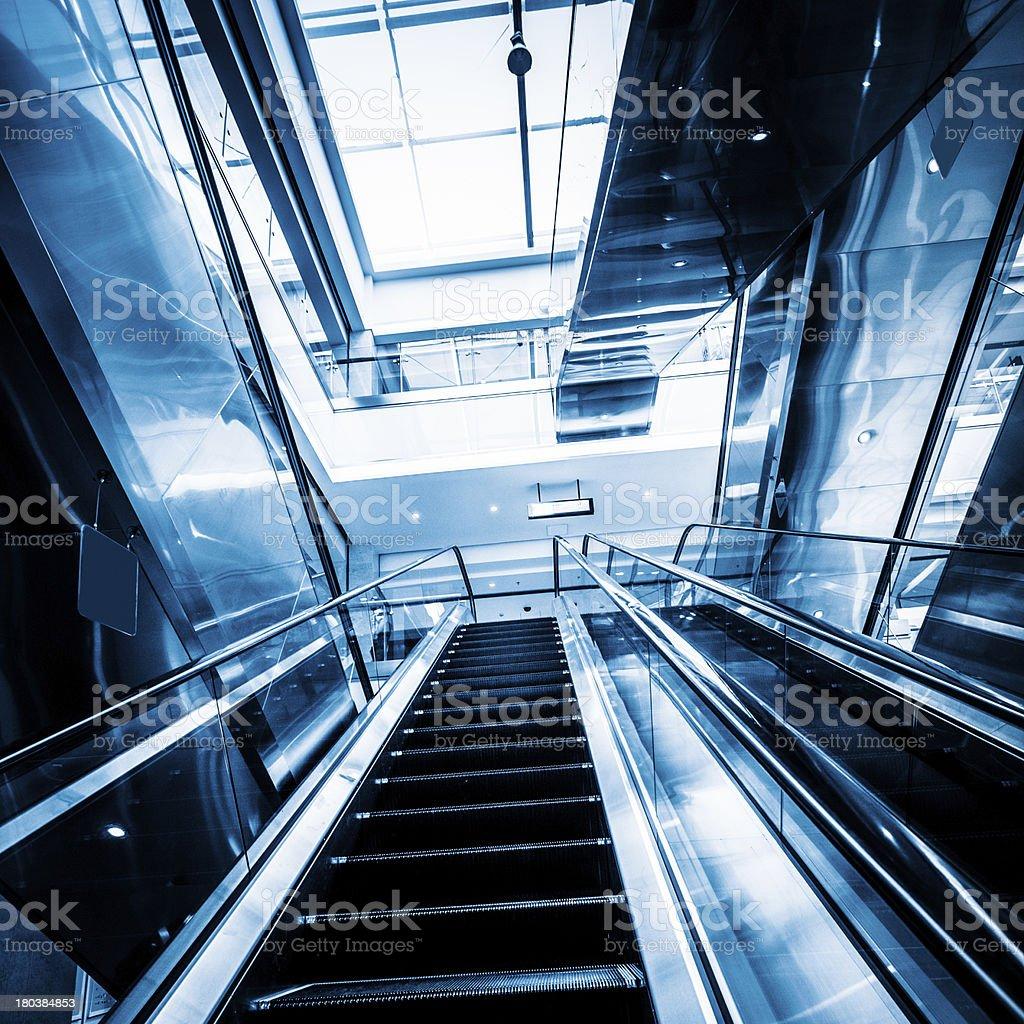 escalator royalty-free stock photo