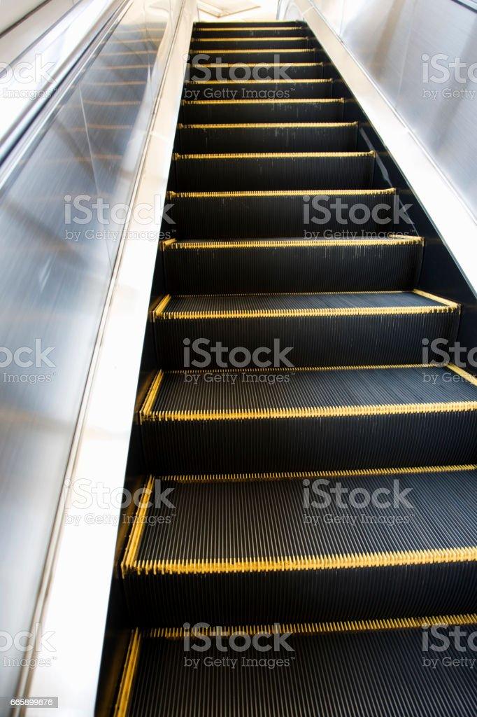 Escalator stock photo