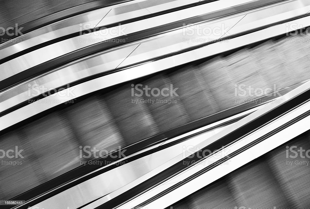 Escalator Staircase Step Walkway royalty-free stock photo