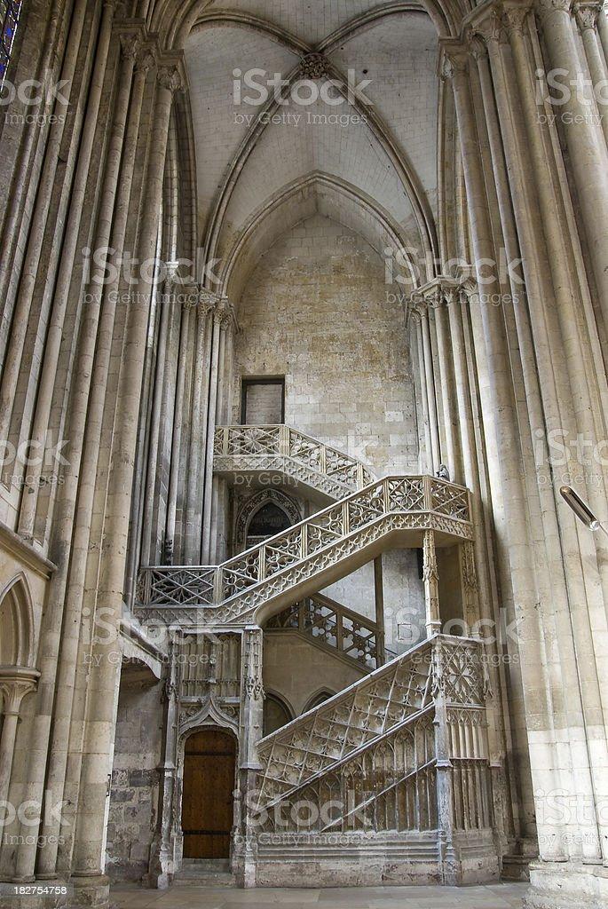 Escalier de la Librairie stock photo