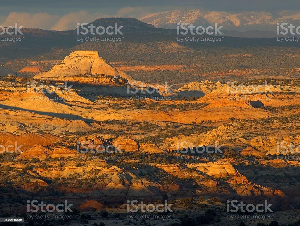 Escalnte country landscape stock photo