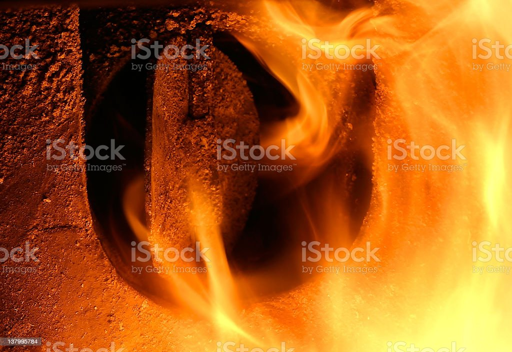 Escape From Hell III stock photo
