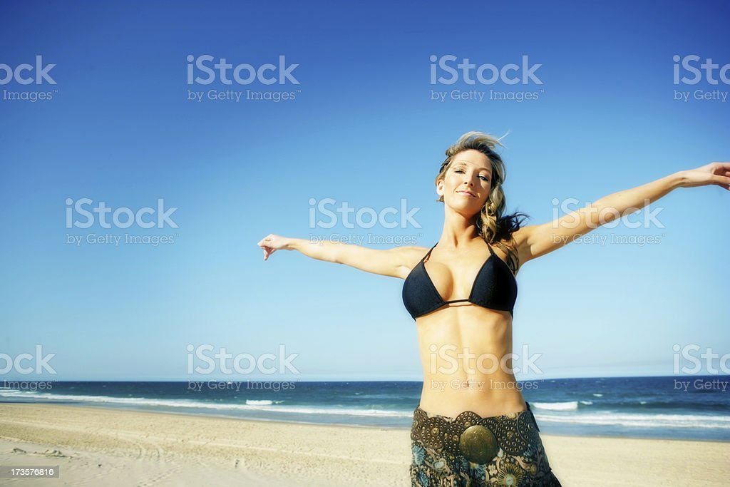Escape from it all royalty-free stock photo