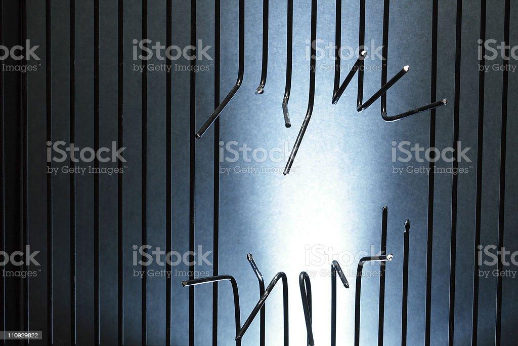 Escape From Prison stock photo