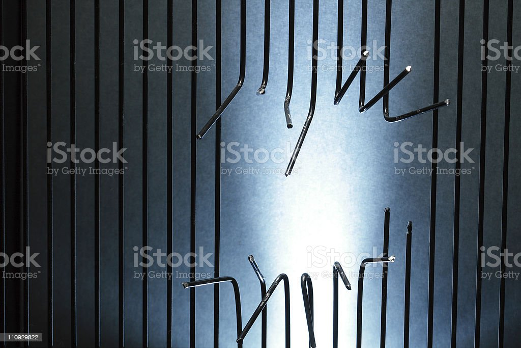 Escape From Prison stock photo