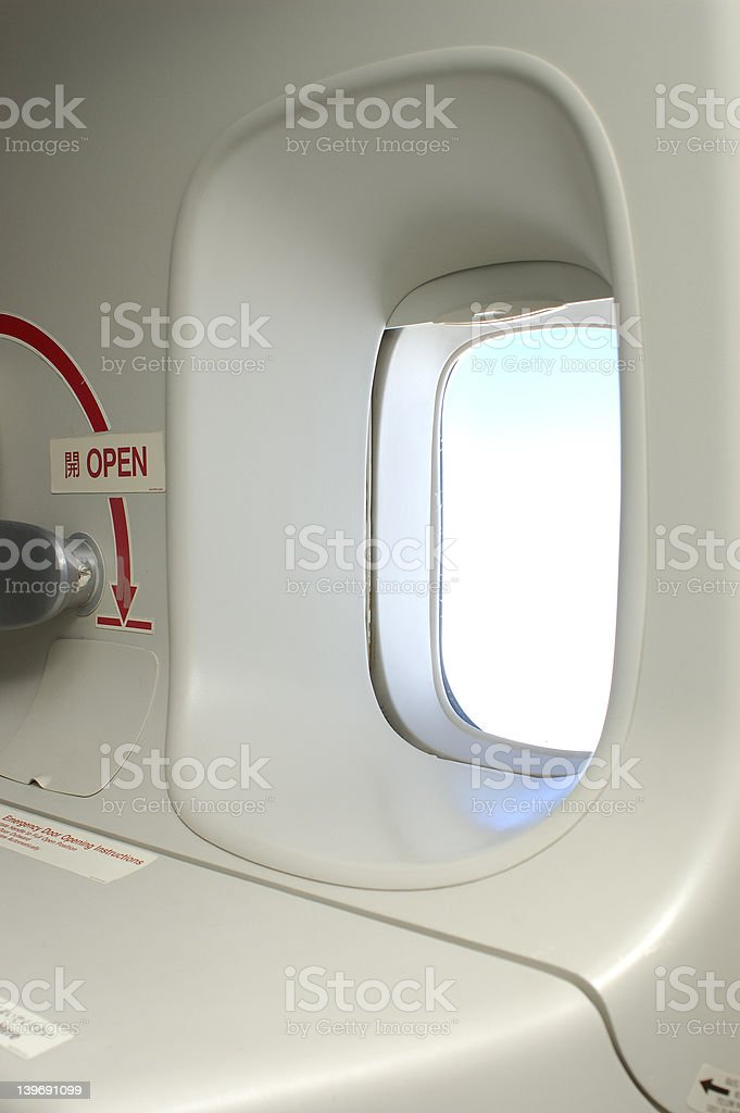 escape hatch royalty-free stock photo