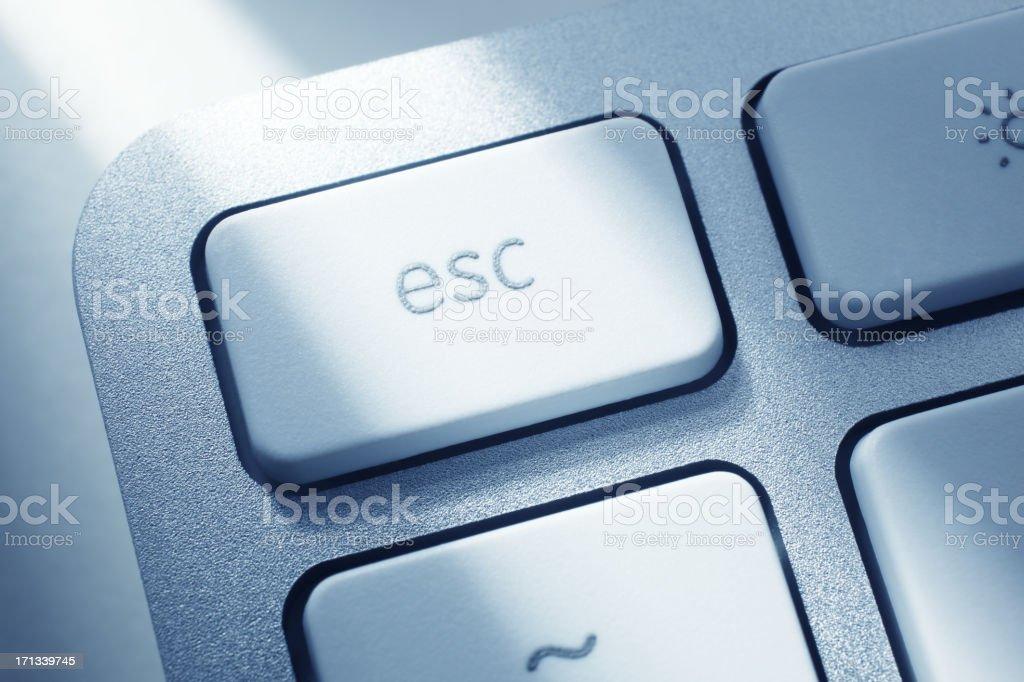 Escape Key stock photo