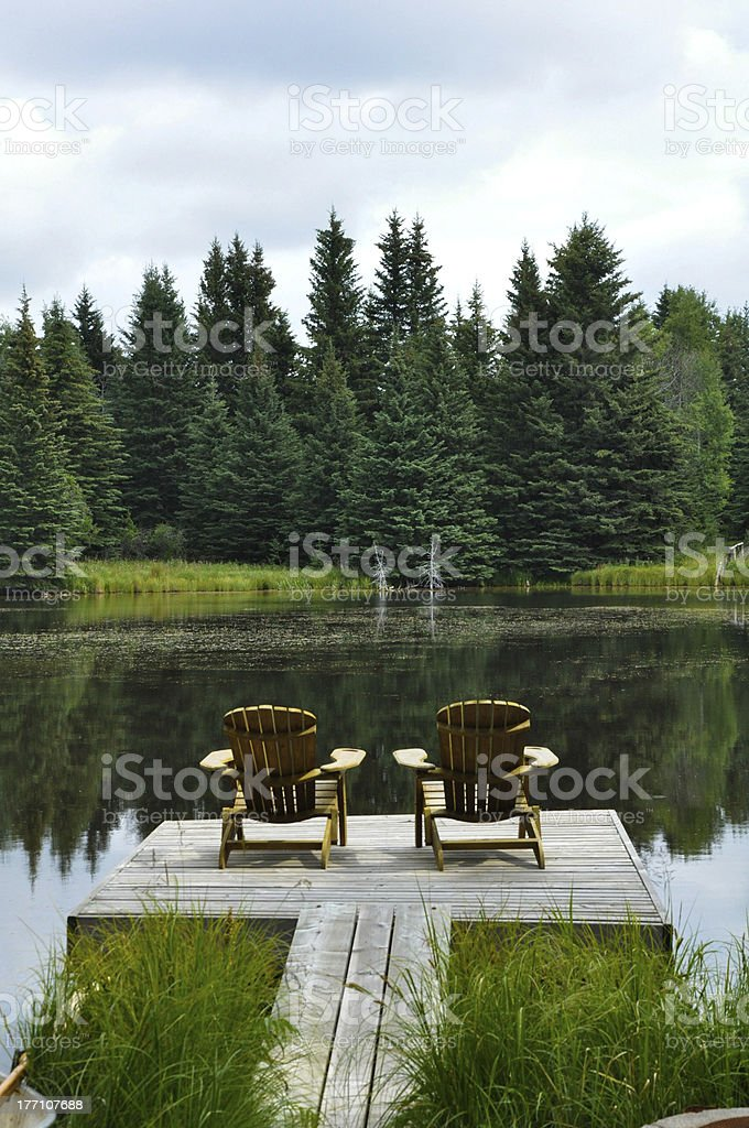 Escape to relax royalty-free stock photo