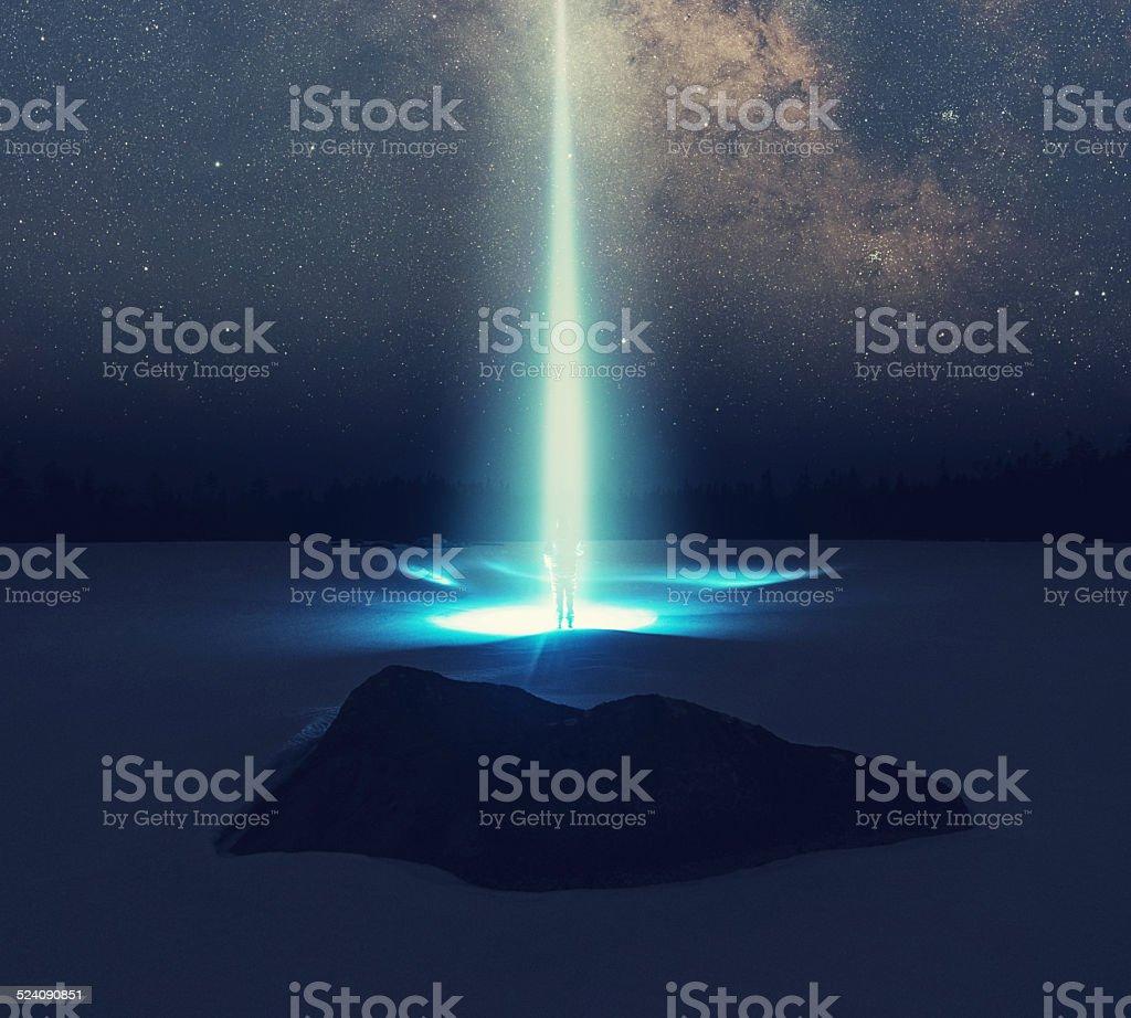 Escape to the Stars stock photo