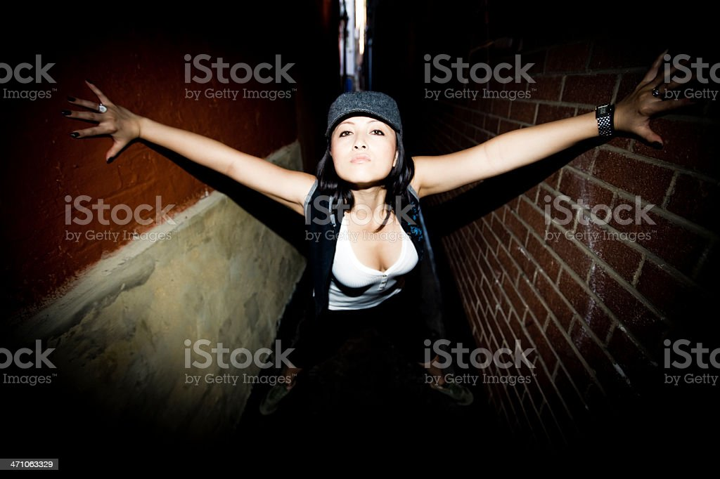 escape under pressure. royalty-free stock photo