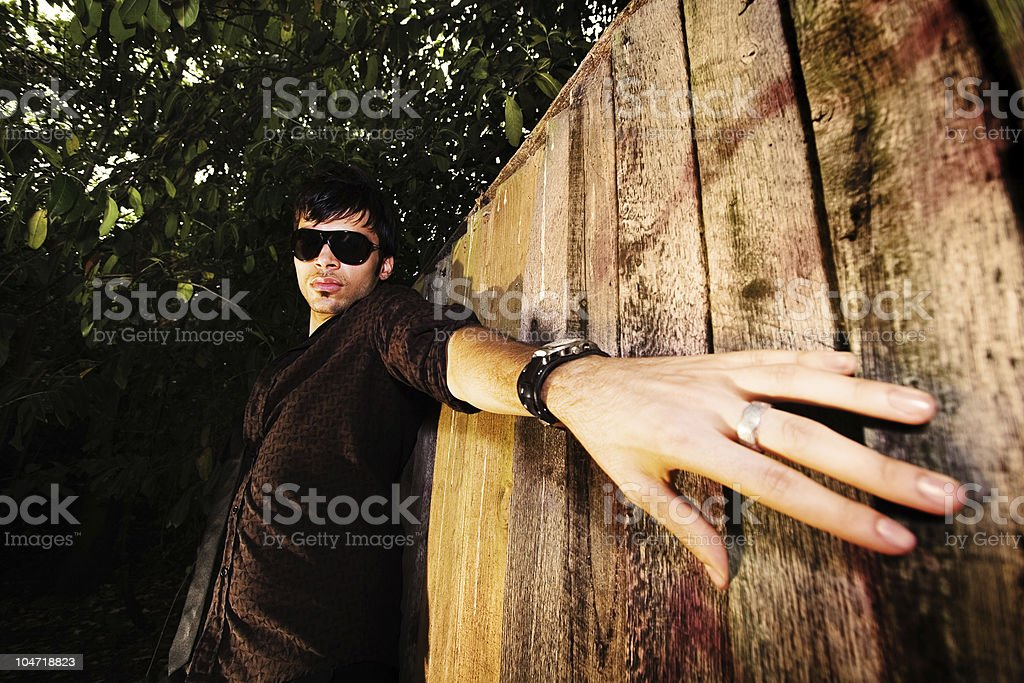Escaping stock photo