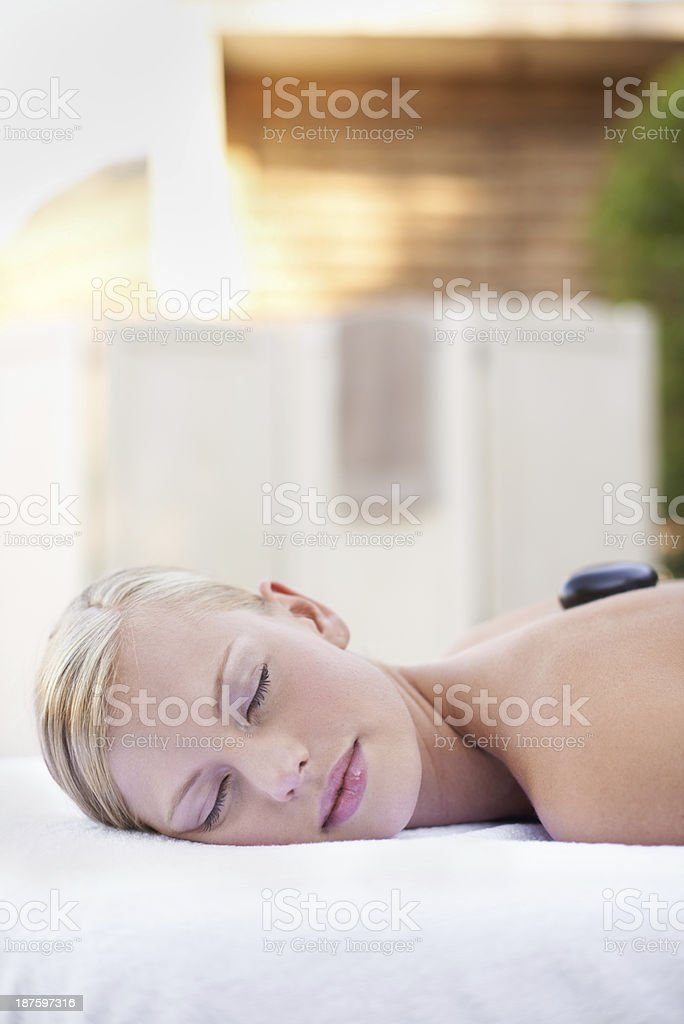 Escaping reality royalty-free stock photo