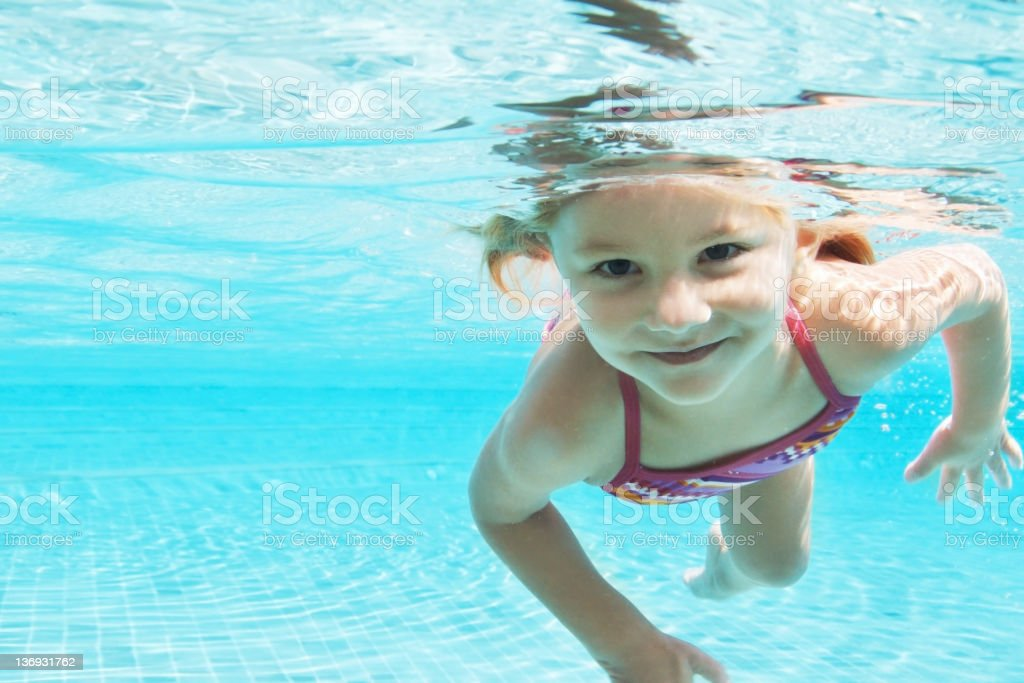 Escaping the summer sun royalty-free stock photo