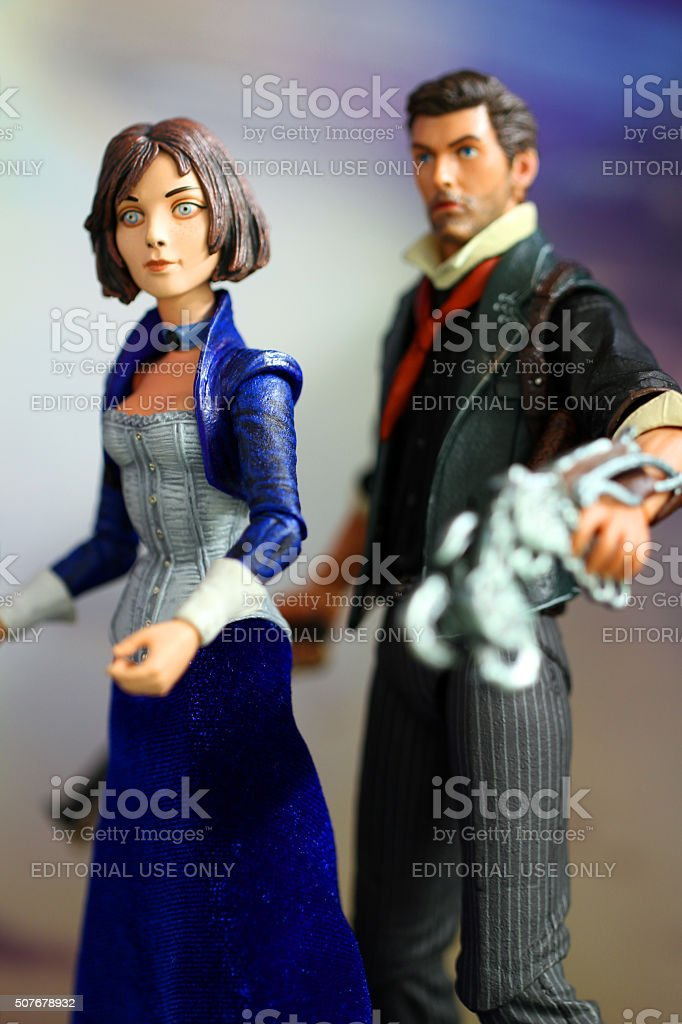 Escaping Together stock photo