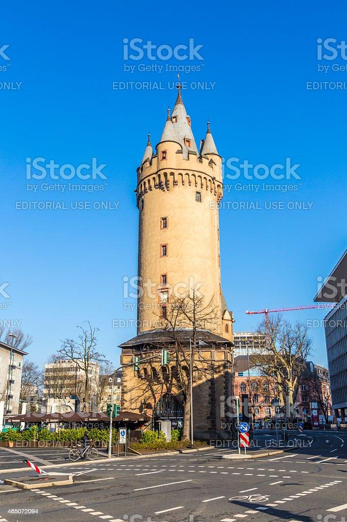Eschenheimer Turm, Frankfurt stock photo