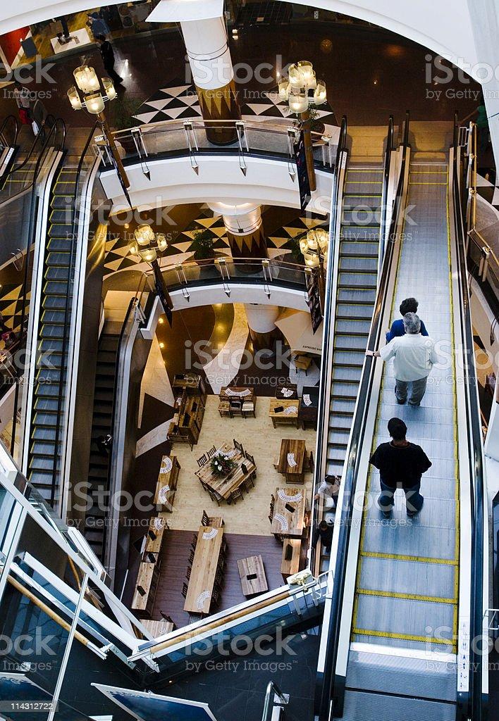 MC Escher mall stock photo
