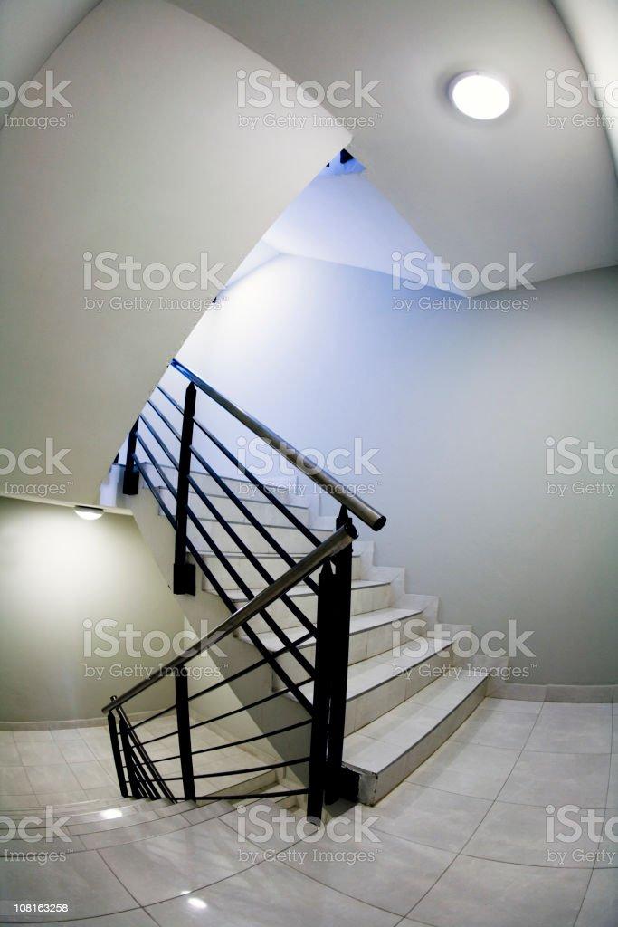 Escher staircase royalty-free stock photo