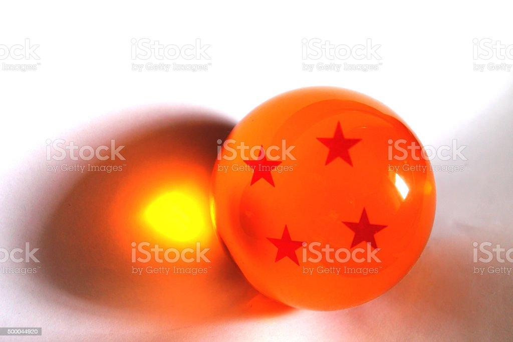 Esfera de 4 estrelas stock photo