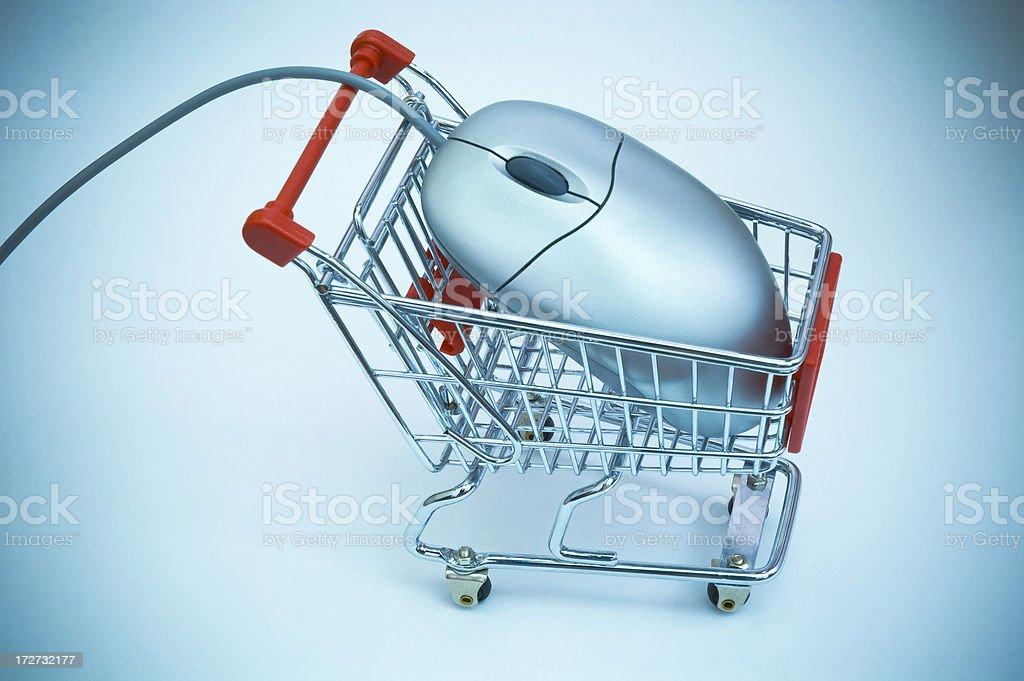 e-Shopping royalty-free stock photo