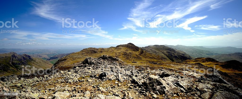 Esk Pike stock photo