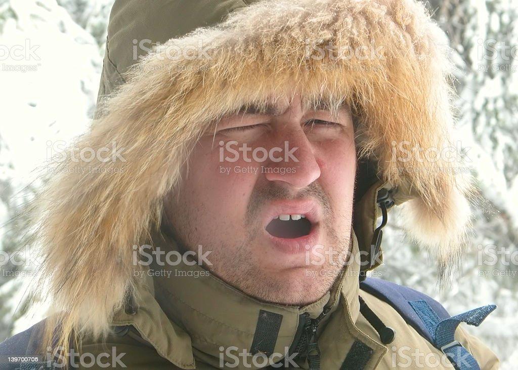 Eskimo royalty-free stock photo