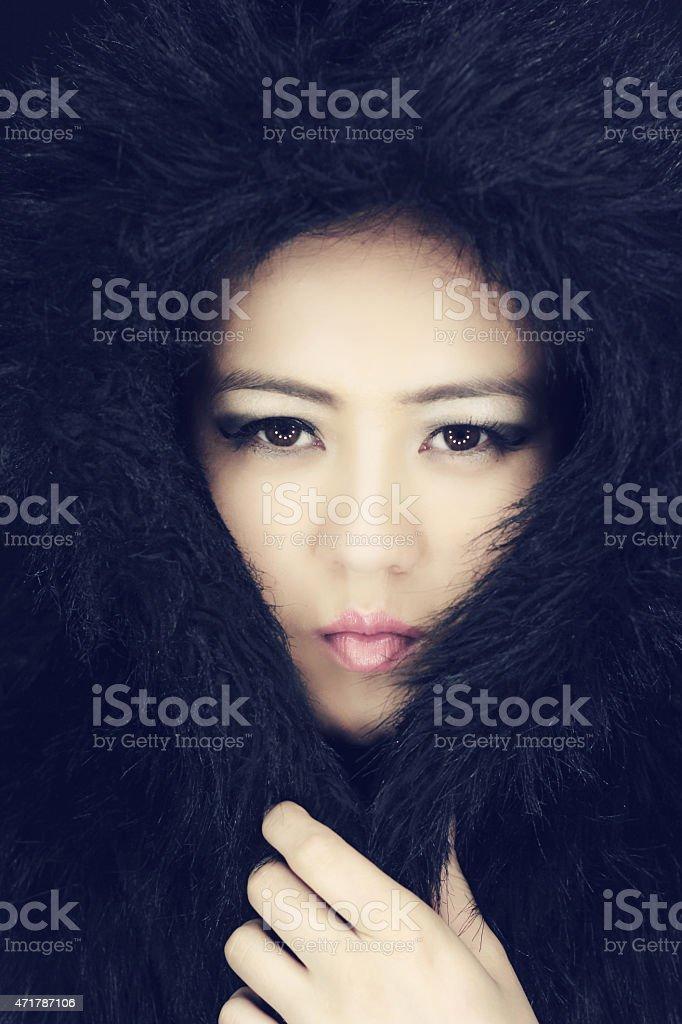 Eskimo stock photo