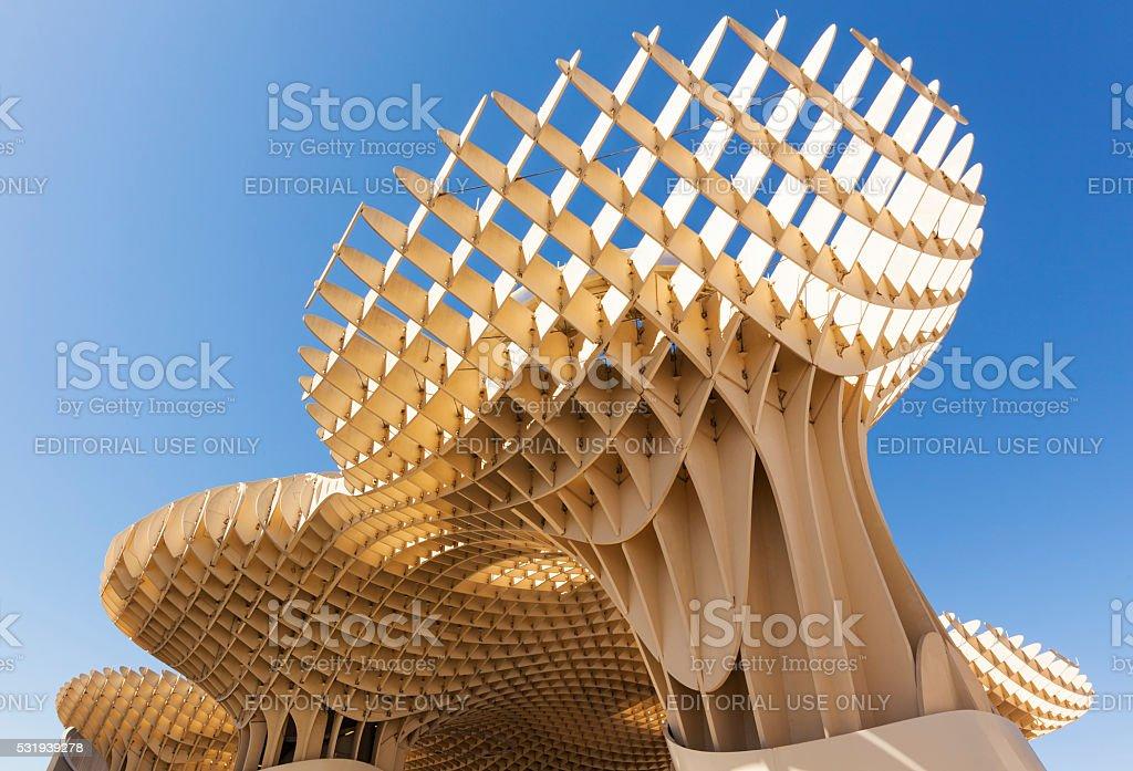 Espace Metropol Parasol, Seville, Spain stock photo