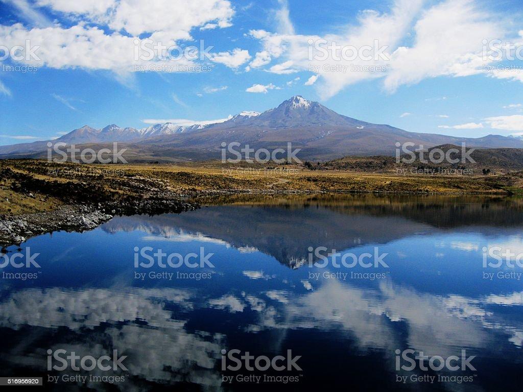 espejo stock photo