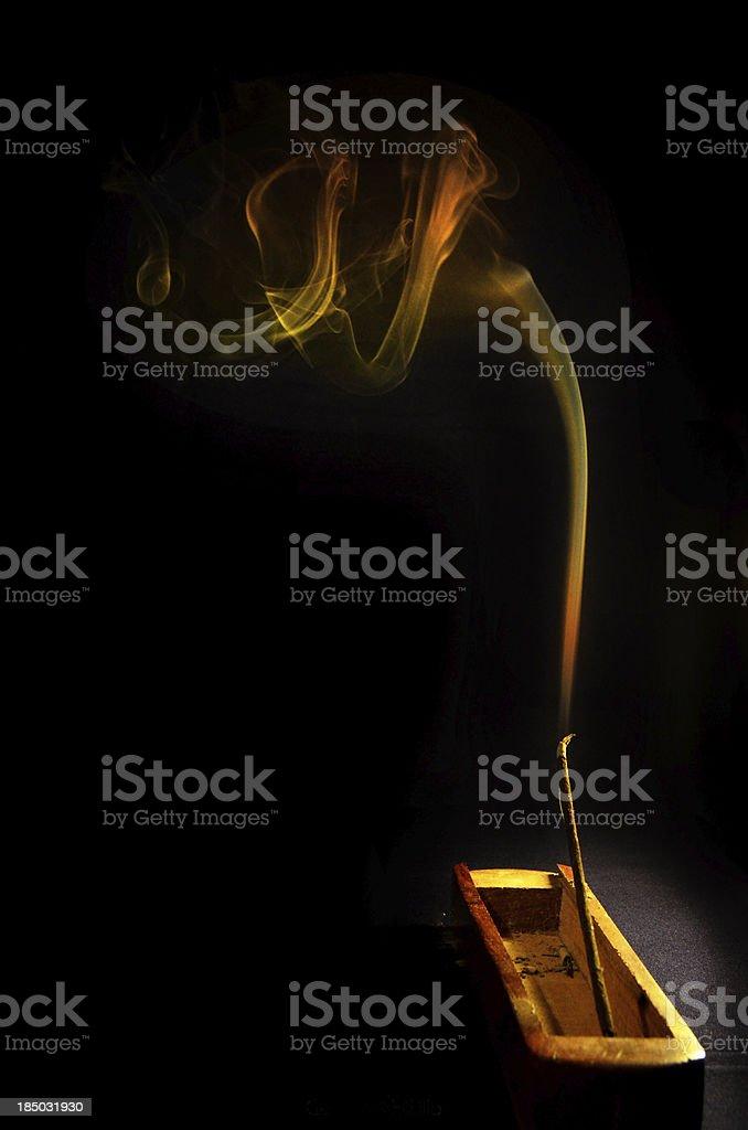 Espiral de Humo stock photo
