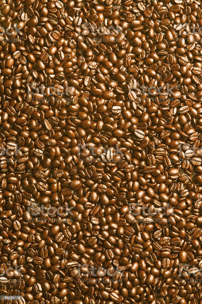 XXXL Espresso Coffee Bean Background royalty-free stock photo